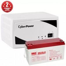 Источник бесперебойного питания CyberPower 200Вт/75Ач/12В