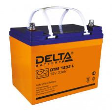 Аккумуляторная батарея DELTA DTM 12V33AH L