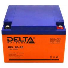 Аккумуляторная батарея DELTA GEL 12-26