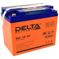 Аккумуляторная батарея DELTA GEL 12-55