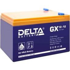 Аккумуляторная батарея DELTA GX 12V-12AH