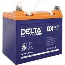 Аккумуляторная батарея DELTA GX 12V-33AH
