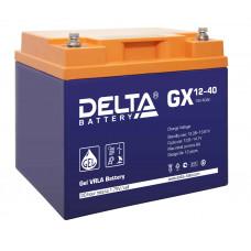 Аккумуляторная батарея DELTA GX 12V-40AH