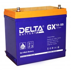 Аккумуляторная батарея DELTA GX 12V-55AH