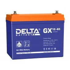 Аккумуляторная батарея DELTA GX 12V-60AH