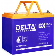 Аккумуляторная батарея DELTA GX 12V-75AH