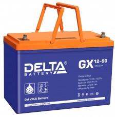 Аккумуляторная батарея DELTA GX 12V-90AH