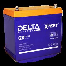 Аккумуляторная батарея DELTA GX 12V-55AH Xpert