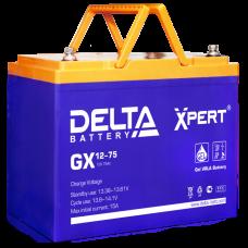Аккумуляторная батарея DELTA GX 12V-75AH Xpert