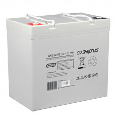 Аккумуляторная батарея Энергия АКБ 12-55