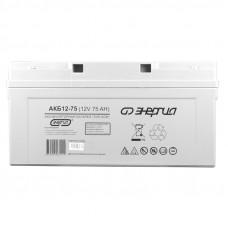 Аккумуляторная батарея Энергия АКБ 12-75