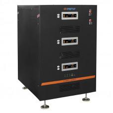 Трехфазный стабилизатор напряжения Энергия Hybrid-45000/3 II поколения