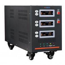 Трехфазный стабилизатор напряжения Энергия Hybrid-9000/3 II поколения