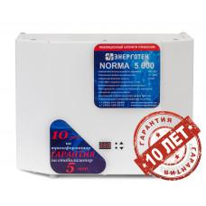 Стабилизатор напряжения Энерготех NORMA 5000 ВА
