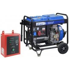 Дизельный генератор TSS SDG 7000EH3 С АВР