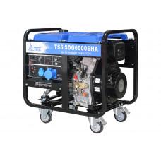 Дизельный генератор TSS SDG 6000EHА