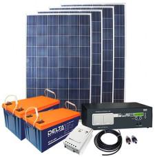Автономная солнечная электростанция 3800 Вт∙ч/сутки