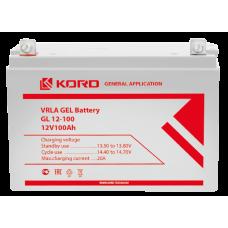 Аккумуляторная батарея KORD GL 12-100