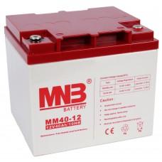 Аккумуляторная батарея MNB Battery MM40-12