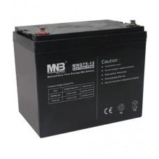Аккумуляторная батарея MNB Battery MNG75-12