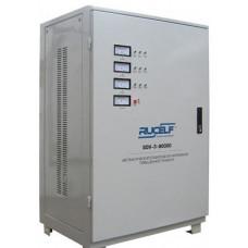Трехфазный стабилизатор напряжения RUCELF SDV - 90000/3