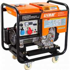 Дизельный генератор SKAT УГД- 7500 ET