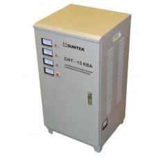 Трехфазный стабилизатор напряжения SUNTEK СНТ 15000 ВА