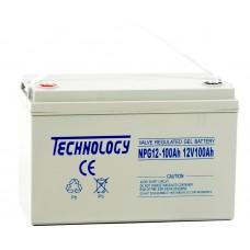 Аккумуляторная батарея TECHNOLOGY 12V100AH GEL