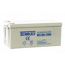 Аккумуляторная батарея TECHNOLOGY 12V200AH GEL