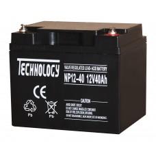 Аккумуляторная батарея TECHNOLOGY 12V40AH