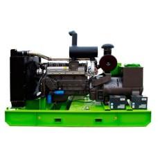 Дизельный генератор 30 кВт RICARDO АД30-Т400 открытый на раме