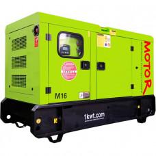 Дизельный генератор 10 кВт RICARDO АД10-Т400 в евро кожухе