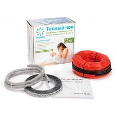 Нагревательный кабель HeatUp 300 Вт 2 - 3,8 м2